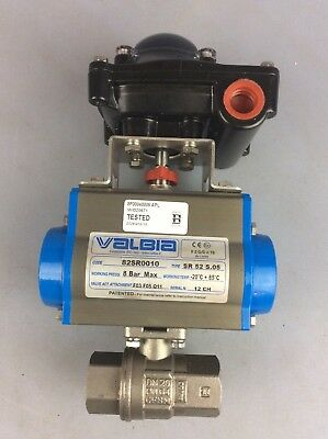 Valbia Actuator SR 52 S.5 With QK 2-10A Limit Switch Supply Ship Worldwide