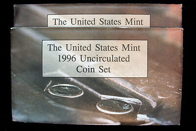 1996 Mint Sets With 1996W Dime - 2 sets