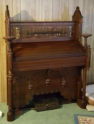 George Woods Antique Pump Organ