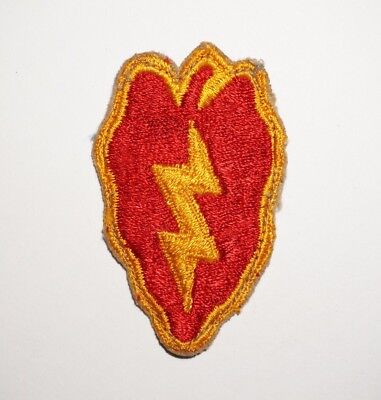25th Infantry Division Patch WWII US Army P5283