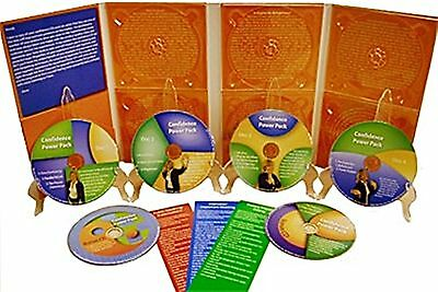 Confidence Power Pack Hypnosis Program CDs