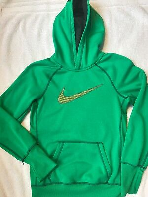 Girls Nike Therma Fit hooded Sweatshirt. Fits 8/10- 10/12 (XS). Perfect condtn.