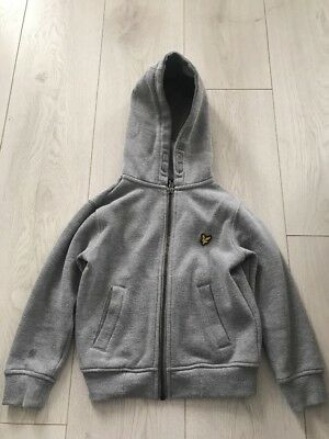Boys Lyle And Scott Hooded Jacket Age 4-5