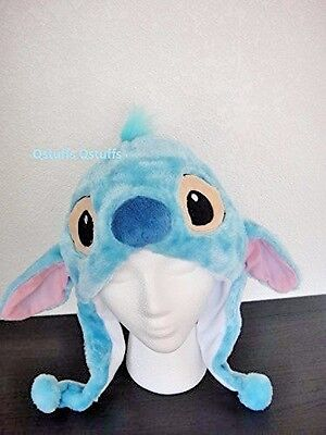 Disney Stitch Lilo plush hats beanie for adults kids Halloween costume cosplay