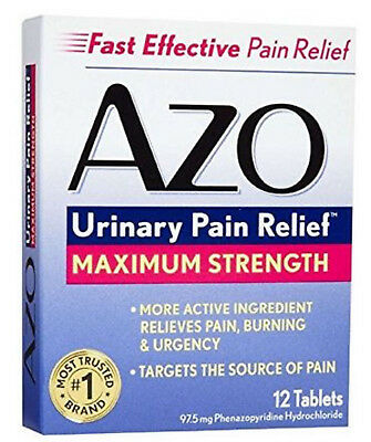 Azo Standard Max Strength Tablets 12ct 787651122533DT