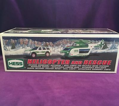 HESS Helicopter and Rescue 2012 Toy Truck - New in Box