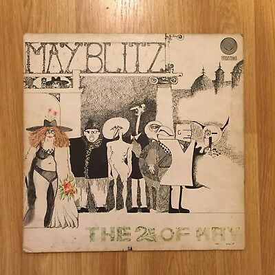 MAY BLITZ - THE 2nd OF MAY vertigo 6360037 LP Vinyl Album