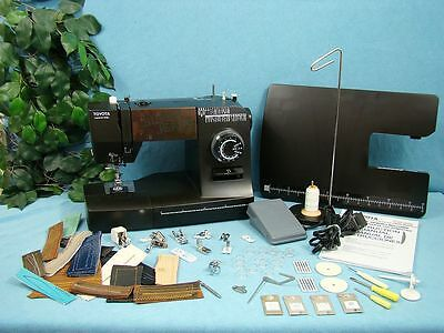 HEAVY DUTY Sewing Machine With REINFORCEMENT STITCH Sews Vinyl Canvas Leather
