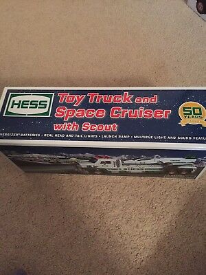 Hess 2014 Toy Truck and Space Cruiser With Scout 50th Anniversary NIB