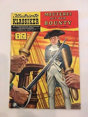 German CLASSICS ILLUSTRATED COMIC  # 9 hrn 138 4.0 or Better