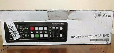 ROLAND V-1HD Portable Compact 4 x HDMI Input HD Video Switcher