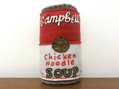 Lucy Sparrow / Cambell's Chicken Noodle Soup / from the Corner Shop