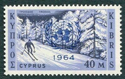 CYPRUS 1964 40m SG239 mint MH FG UN Security Council's Cyprus Resolution #W49