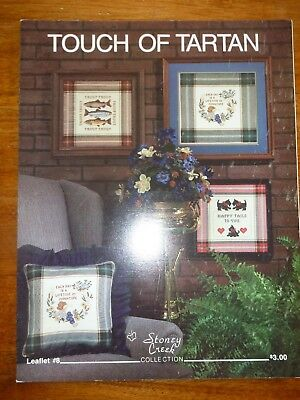 Stoney Creek Collection - Cross Stitch Pattern Book #8 - Touch Of Tartan