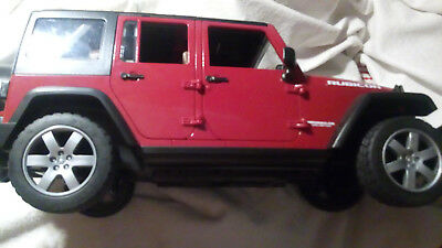 Bruder JEEP Wrangler Unlimited       in  Rot
