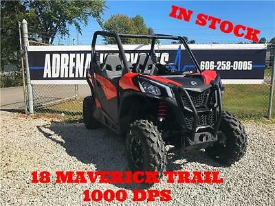 2018 Can-am 18 Maverick Trail 1000DPS  0 Red  1000 Automatic