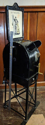 Antique International Mutoscope Movie Machine Felix the Cat & Brownie Bear Reel