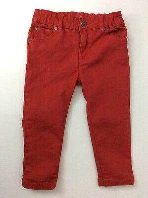 Stella McCartney Kids Skinny Jeans, Size Age 24 Months, 2 Years, Red, Vgc