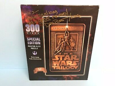 Star Wars Trilogy (300 special poster pieces) Autograph Signed Makes great gift!