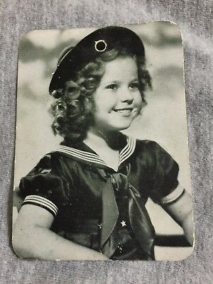 Shirley Temple RARE Genuine Photo clothing Tag