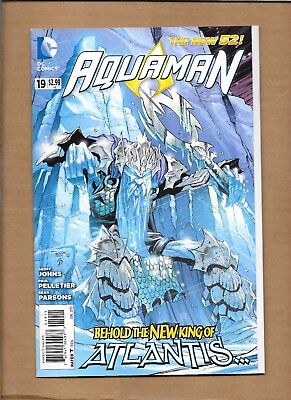 Aquaman  #19 1St Appearance King Nereus Dc Comics  Movie Related New 52