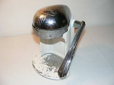 Vintage Chrome 1950's JUICE O. MAT Single Action Juice Press By Rival