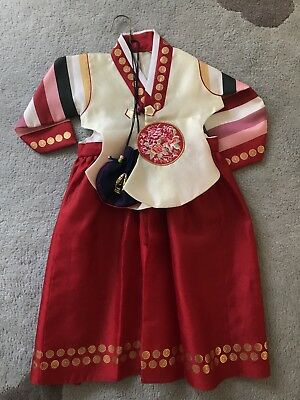 Korean Traditional Hanbok - fits 2 year old girl