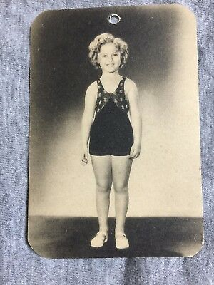 Shirley Temple RARE AUTHENTIC Photo clothing Tag