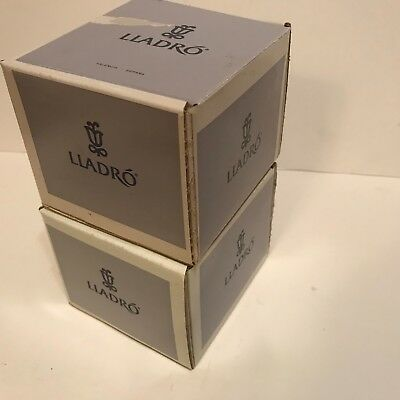 LLadro - 2 Empty Square Boxes Only 5 x 5 x 5""