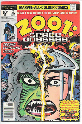 2001: A Space Odyssey #2 (1977, vf+ 8.5) Jack Kirby - guides at $12.00/£9.00