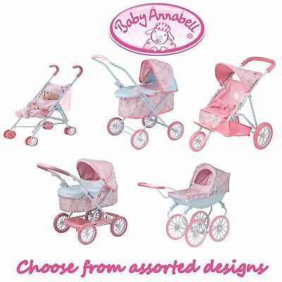 BABY ANNABELL Baby Dolls PRAMS & PUSH CHAIRS STROLLER  Accessories Bag