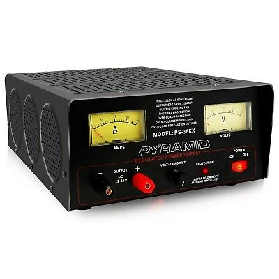 Pyramid Bench Power Supply | AC-to-DC Power Converter | 32 Amp Power Supply w...