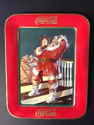 """Franklin Mint 1997 """"they Remembered Me"""" Limited Edition Coca-Cola Plate"""
