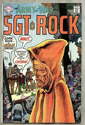 Our Army At War #211-1969 vg/fn Sgt. Rock Sgt Kubert