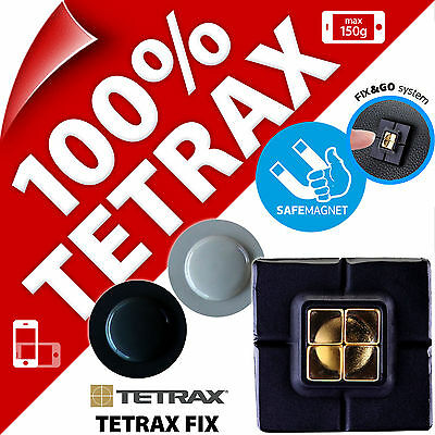 Tetrax Fix Magnetic Car Dash Holder for iPhone 4S 5S SE 6 Mobile Smart Phone GPS