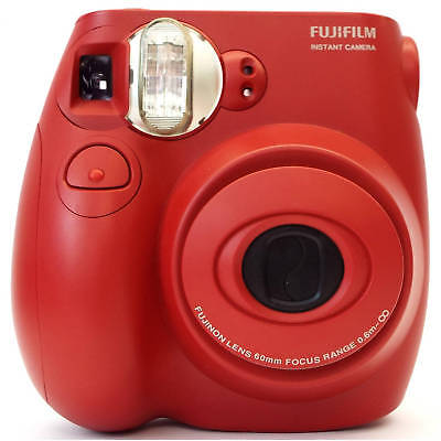 Fujifilm Instax Mini 7S Instant Camera RED  (with 10-pack film)