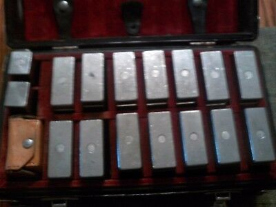 30+ LB Calibration Test Weights With Original Case