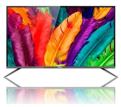 "Akai AKTV4235S Tv Led 42"" Full Hd Smart Tv Wi-Fi Nero televisore digitale terre"