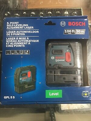 Bosch Professional Gpl 5S 5-Point Self-Leveling Alignment Laser