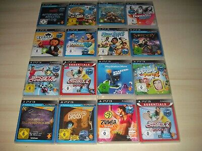 PS3 - 1 Move Spiel nach Wahl ( Fitness, Sport Champions, Zumba ..) Playstation 3