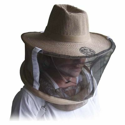 Beekeepers Net Hat Bee Keeper Protection Netting Helmet