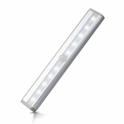 360rotate Led Motion Sensor Night Lights Stick On Anywhere Battery