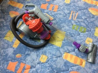 Casdon Dyson DC22 Vacuum Cleaner Replica Toy DC 22 Red Purple