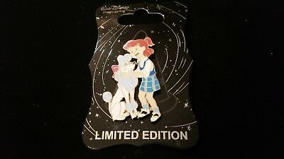 Disney D23 Mickeys of Glendale WDI Dog Pin LE 250 Jenny and Georgette