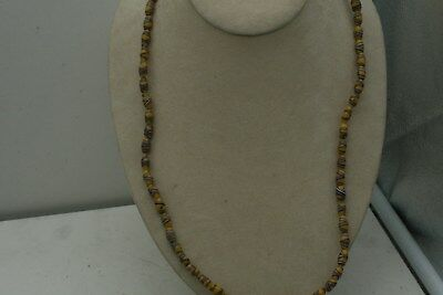 """26"""" Long Strand Of Great Old Trade Bead Necklace Glass Beads Beautiful Colors"""