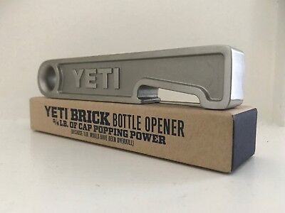 GENUINE YETI BRICK ¾ pound New in original box Rare! Collectible Free Shipping!