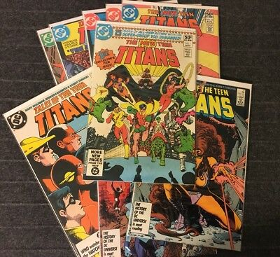 New Teen Titans/Tales Of The Teen Titans (1980) #1 10 16 42 43 +++ DC