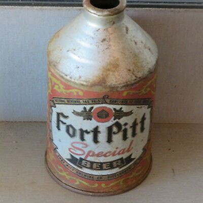 Fort Pitt    Beer. Difficult Irtp.  Cone Top