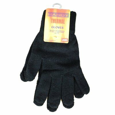 Womens Winter Thermal Knitted Gloves With Extra Warm & Comfortable (1-4 Packs)