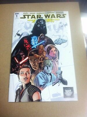 Star Wars Adventures #1 LCSD variant.First printing.